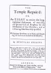 Temple Repaird
